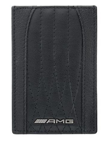 AMG Kreditkartenetui mit Geldscheinklammer Original Mercedes-AMG Collection
