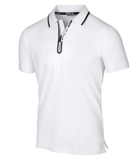 Mercedes-AMG Poloshirt Herren Weiß Größe 2XL