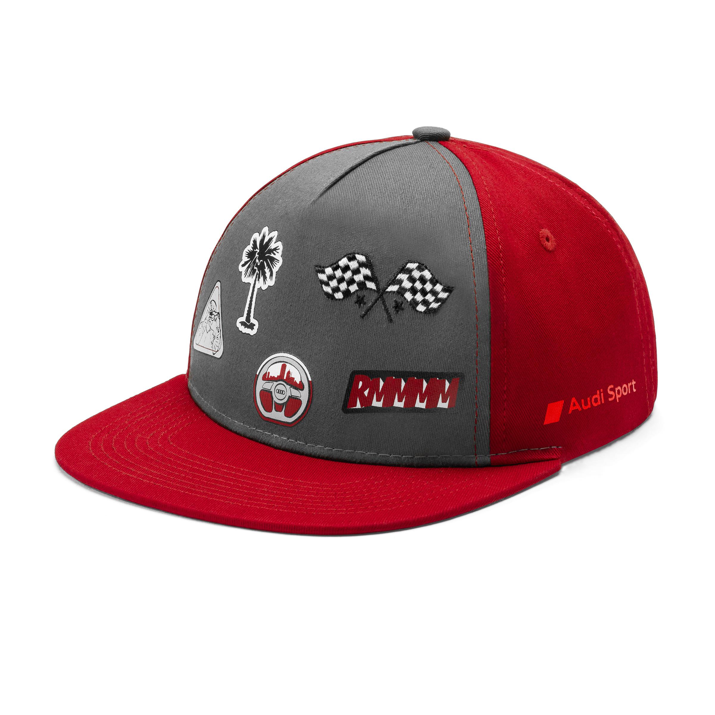 Audi Sport Kleinkinder Cap grau/rot Kappe Basecap