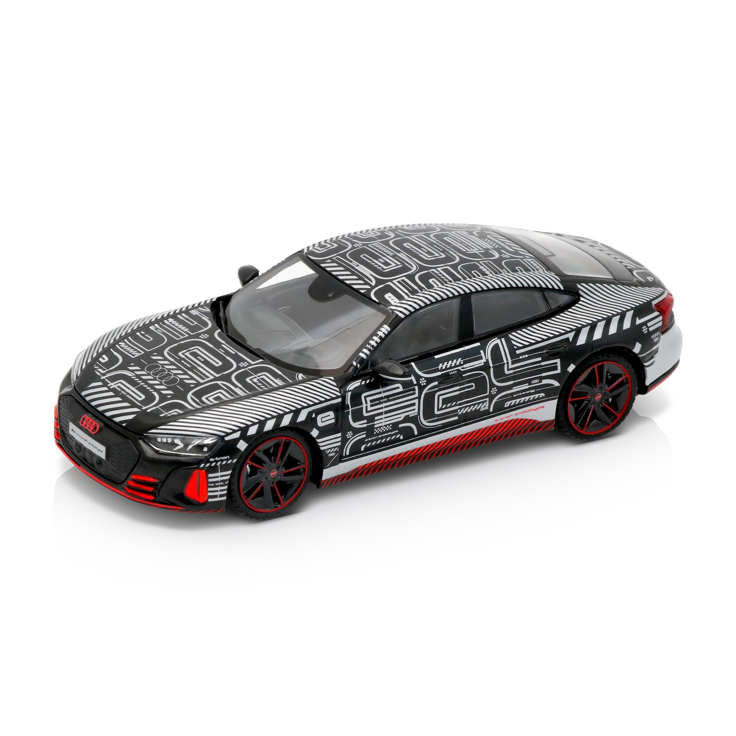 Audi RS e-tron GT Prototyp schwarz/rot/silber Modellauto 1:43