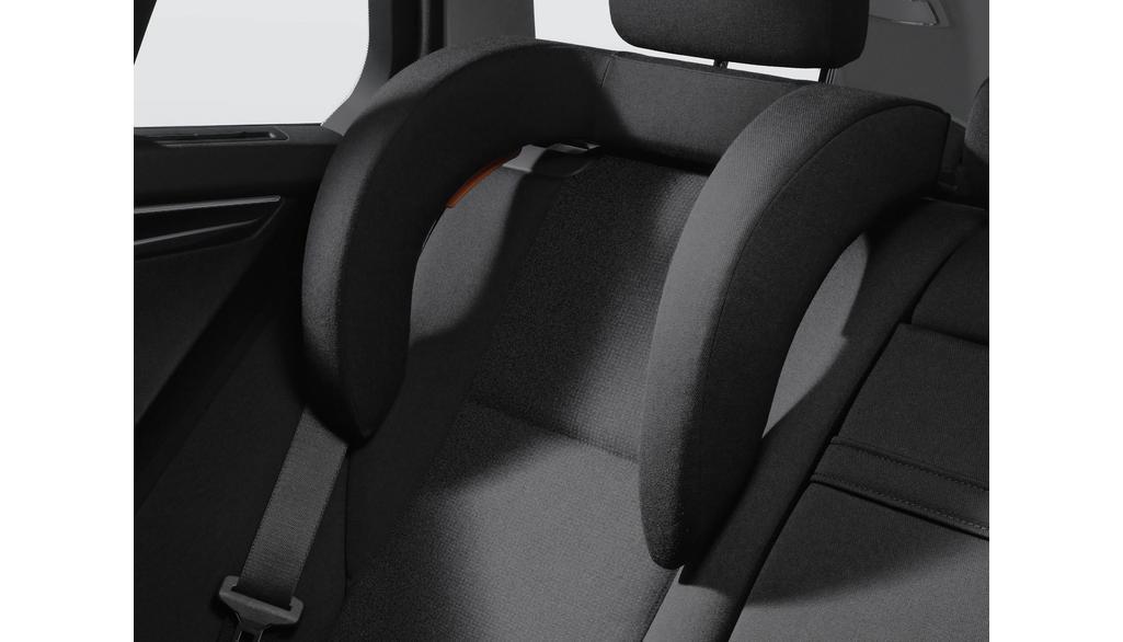 Mercedes-Benz IKS-Seitenkopfstütze für integrierte Kindersitze schwarz