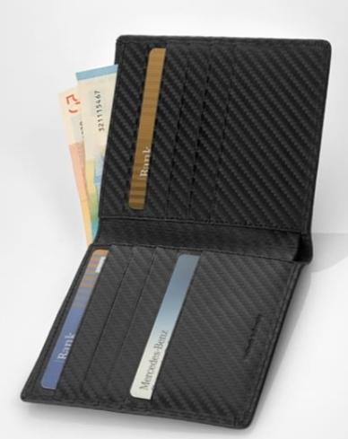 AMG Kreditkartenetui Carbonleder Original Mercedes-AMG Collection