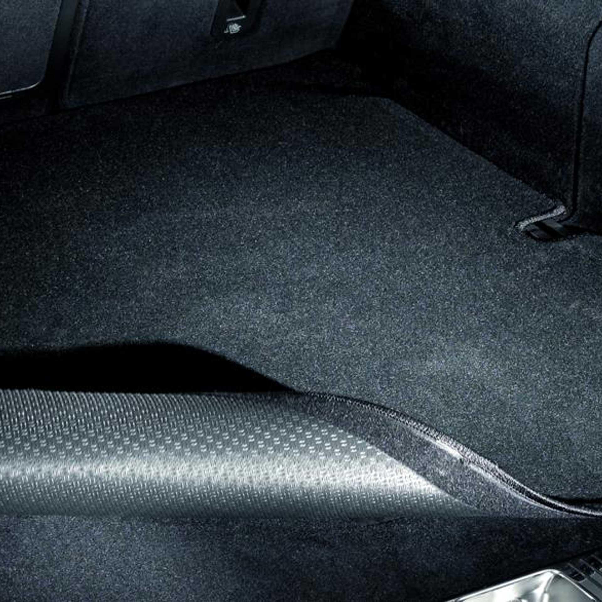 Mercedes-Benz Wendematte E-Klasse (W213) außer Hybrid rutschhemmend schwarz Kofferraummatte