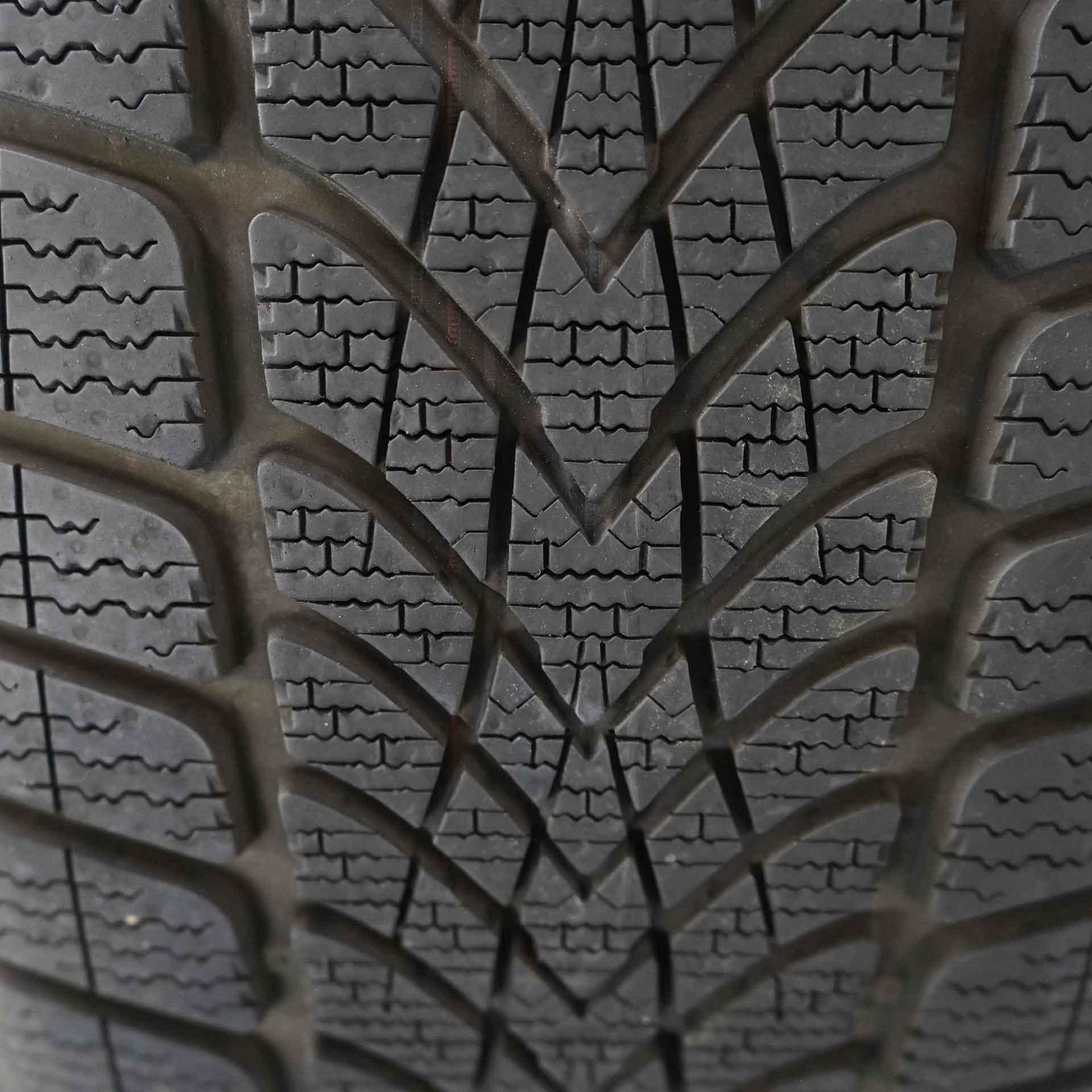S-Klasse (222) Gebrauchter 18 Zoll Original Mercedes-Benz Winterkomplettrad-Satz Dunlop