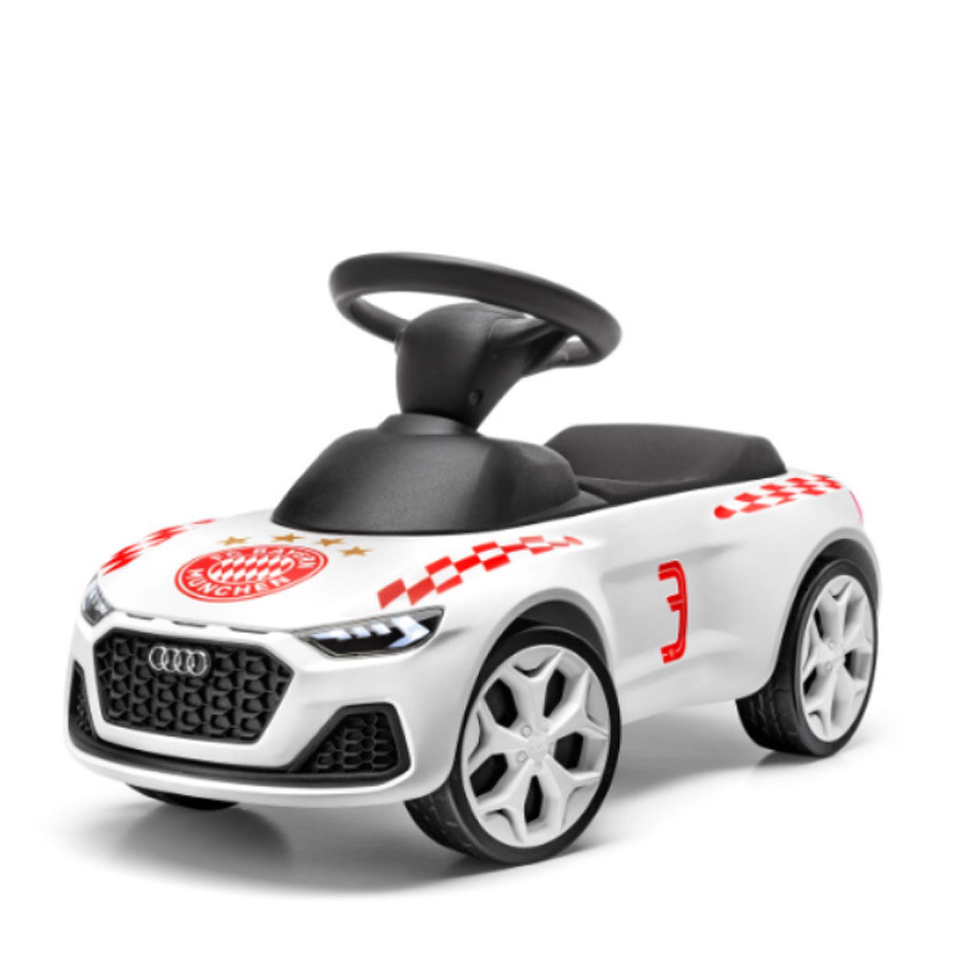 Audi Junior quattro FC Bayern München weiss Kinderrutscher