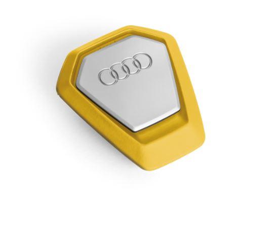 Audi Duftspender Singleframe gelb Duft erfrischend und belebend