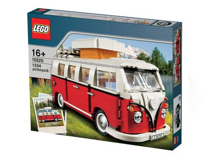Lego, Camping T1 Rot/Weiß