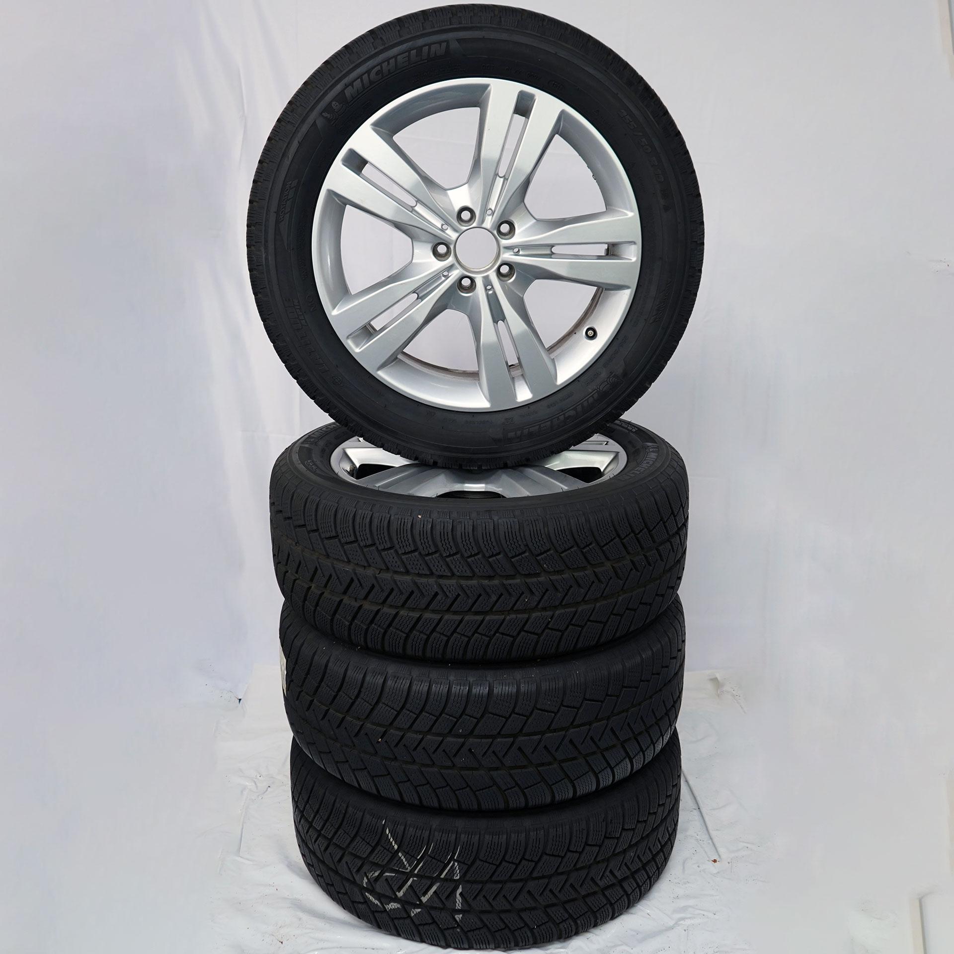 Gebrauchter 19 Zoll Original Mercedes-Benz Winterkomplettrad-Satz M-Klasse / GLE (166) Michelin
