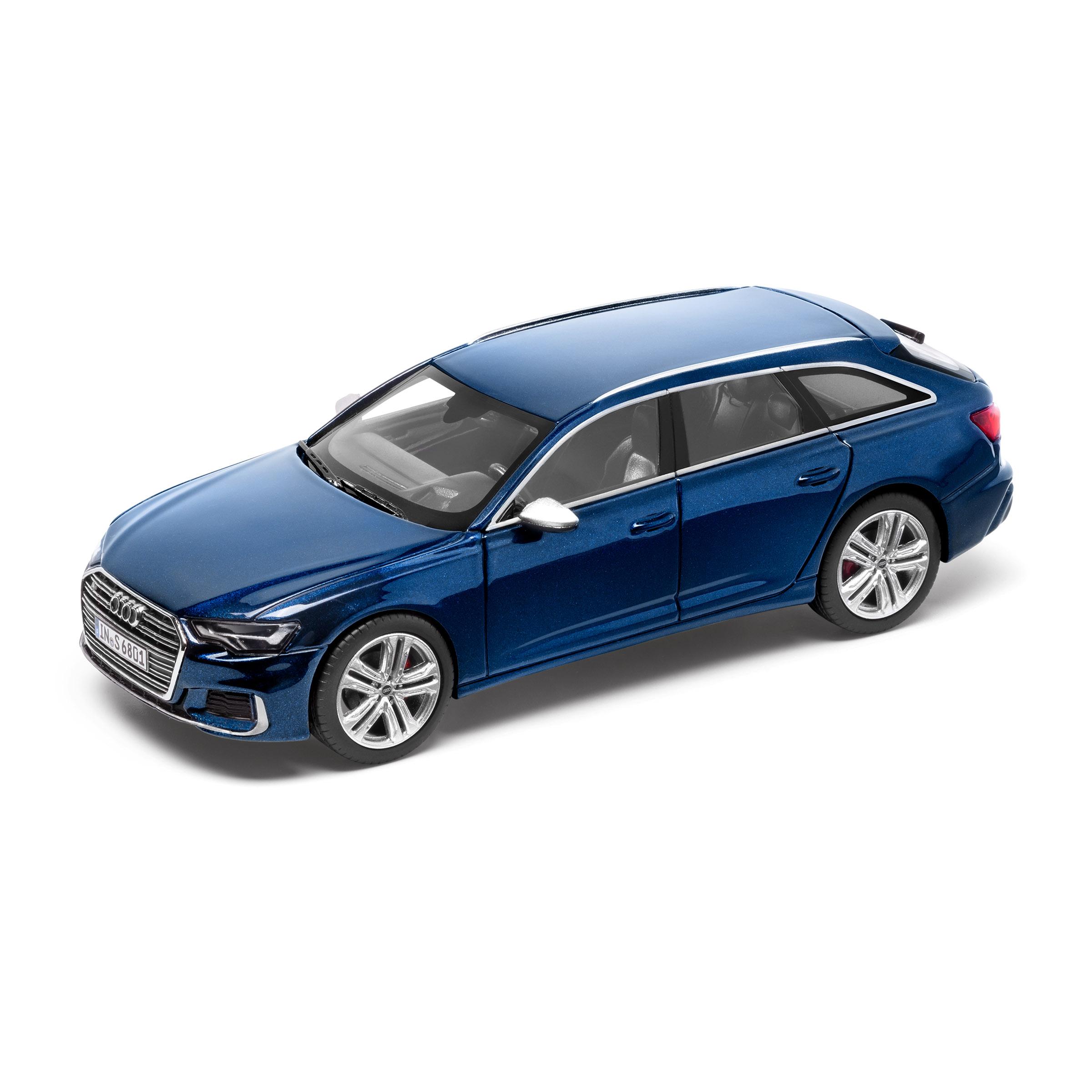 Audi S6 Avant limitiert Navarrablau 1:43