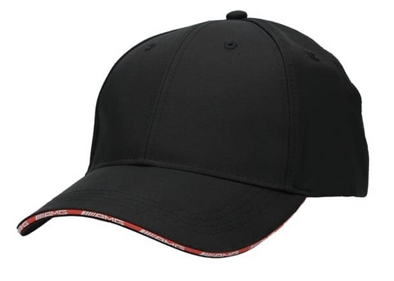 AMG Baseball Cap schwarz / rot Original Mercedes-AMG Collection