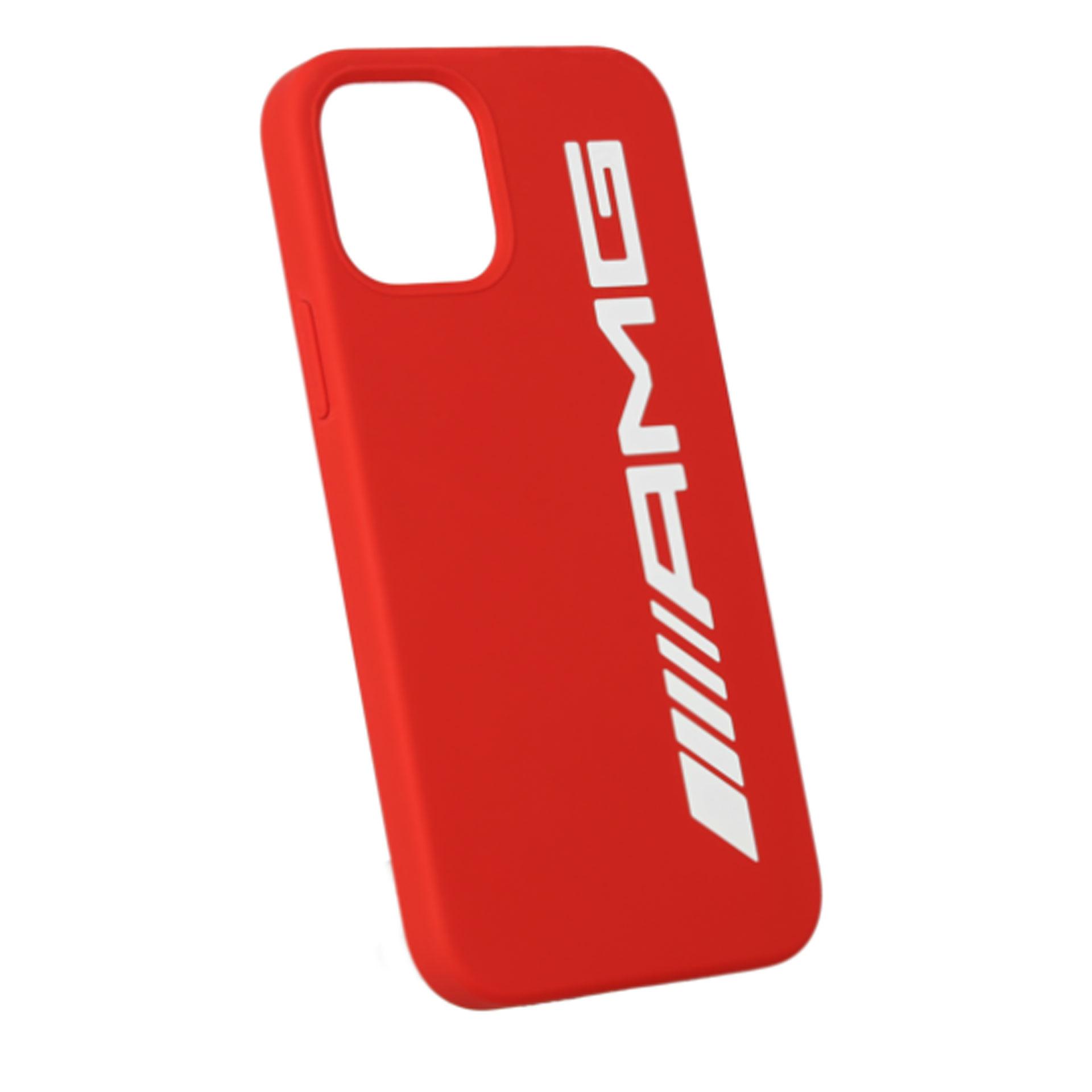 Mercedes-AMG Handyhülle für iPhone® 12 Pro/iPhone® 12 rot weiß