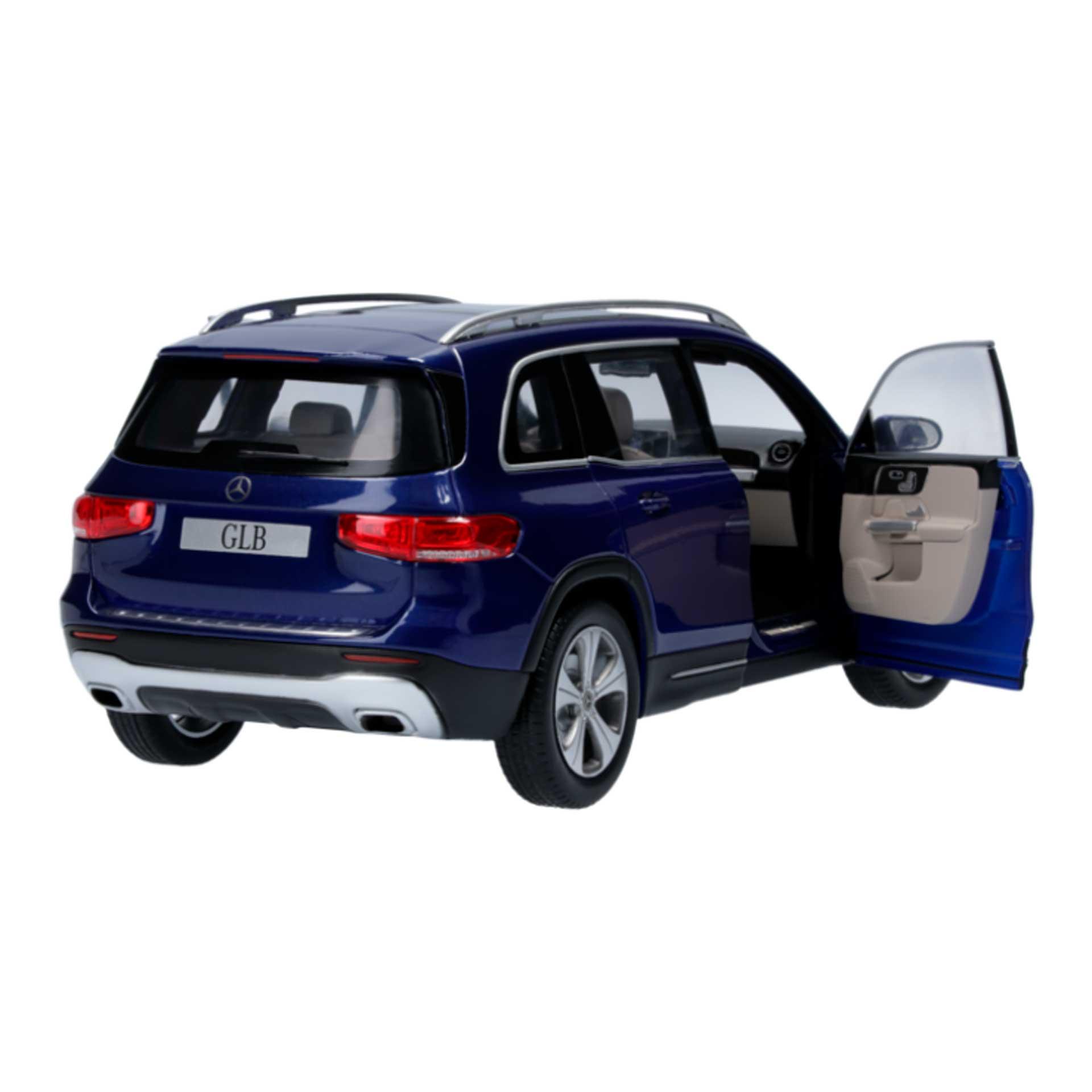 Mercedes-Benz GLB Modellauto 1:18 blau
