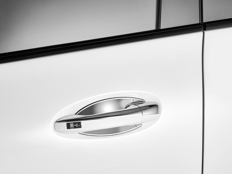 Mercedes-Benz Türgriffschalen groß 2-teilig hochglanzverchromt