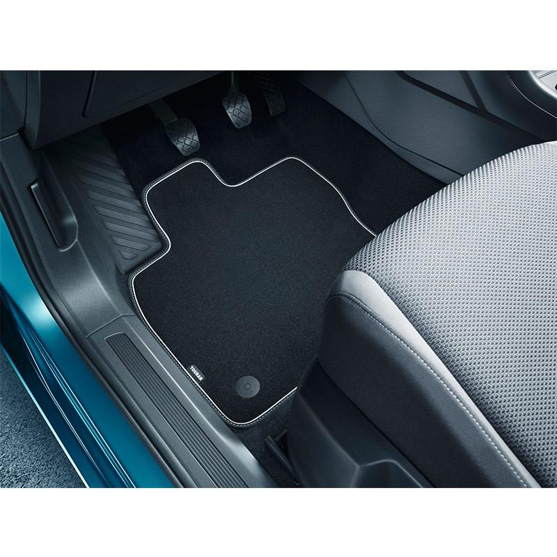 Volkswagen Premium Textilfußmatte für Touran II 4 Stück für vorne und hinten
