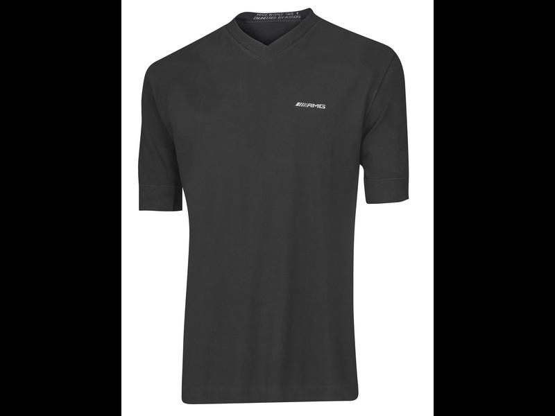 Mercedes-AMG Unterhemd halbarm kurzarm schwarz Unisex
