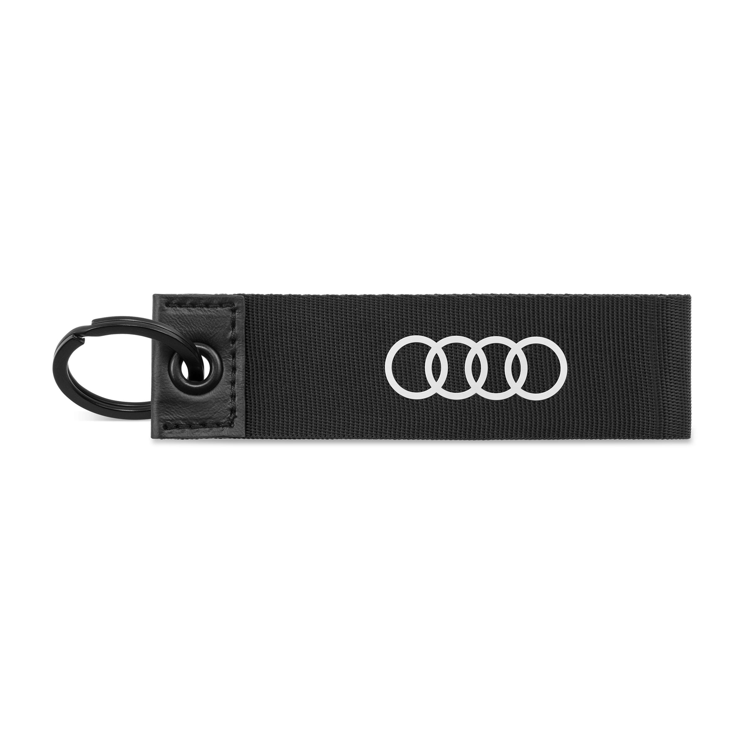 Audi Schlüsselanhänger schwarz