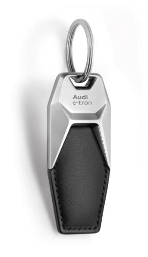 Audi Schlüsselanhänger Leder e-tron