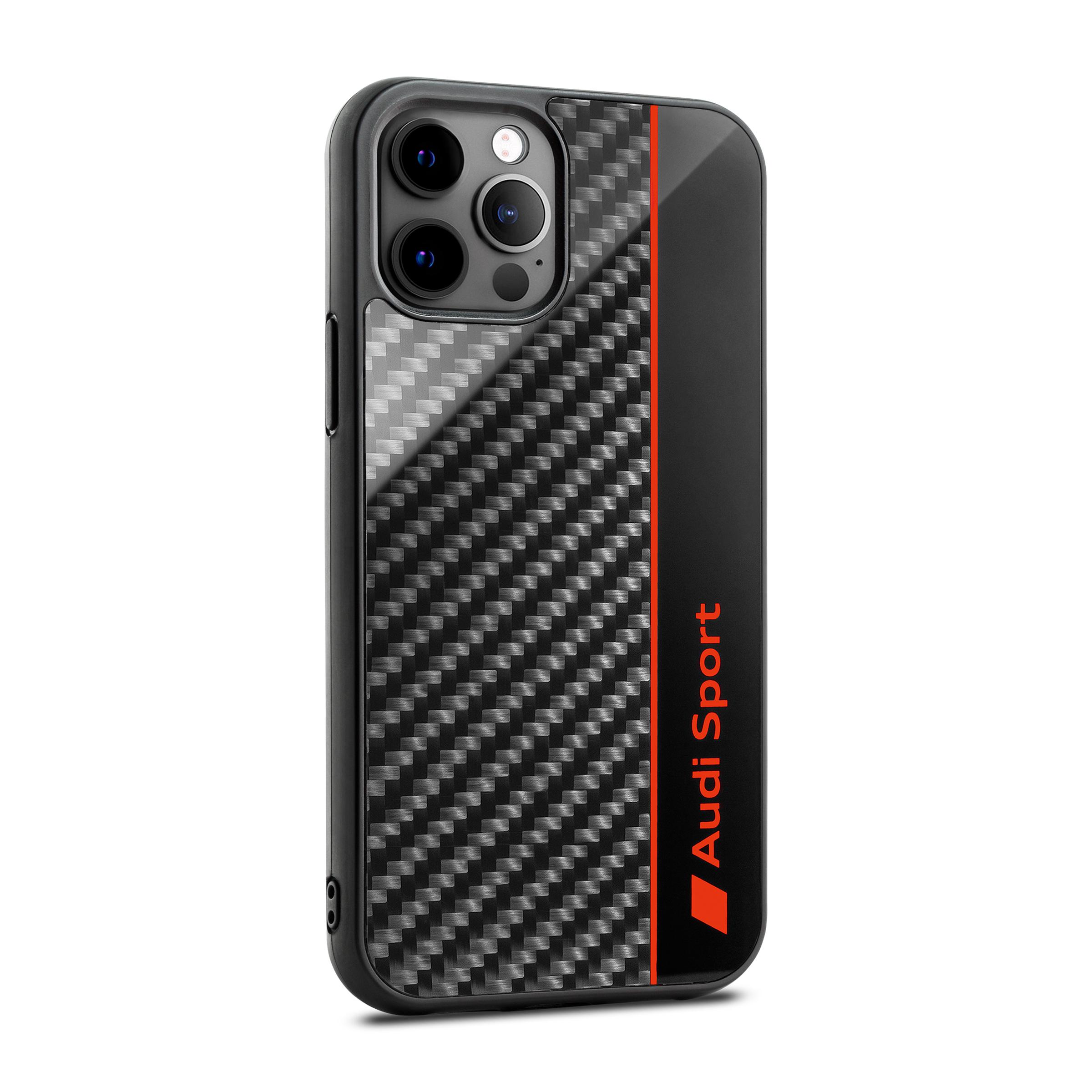 Audi Sport Smartphonecase iPhone12 / iPhone 12 Pro grau