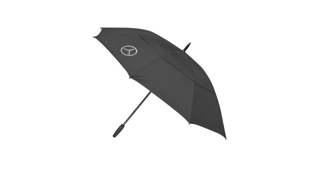 Mercedes-Benz Golfschirm Regenschirm Sonnenschirm schwarz