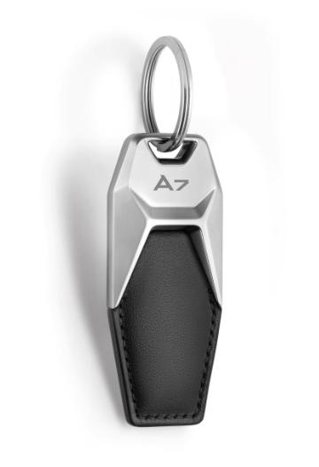 """Audi Schlüsselanhänger Leder """"A7"""""""