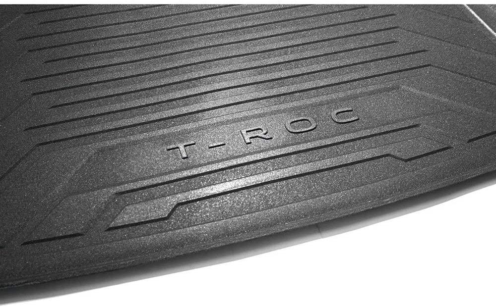 Volkswagen Gepäckraumeinlage Kofferraumeinlage, mit T-ROC Schriftzug