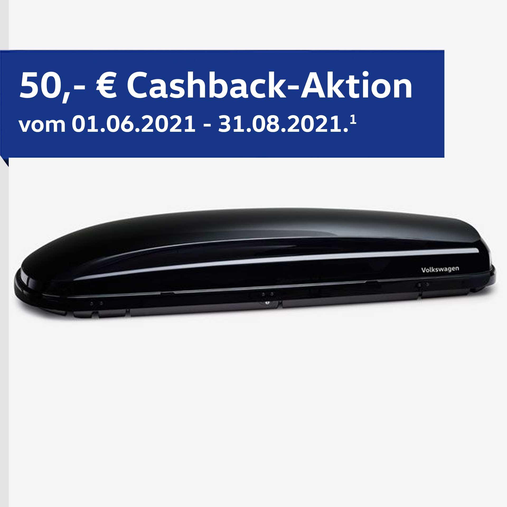 Volkswagen Dachbox Basic schwarz 340 l