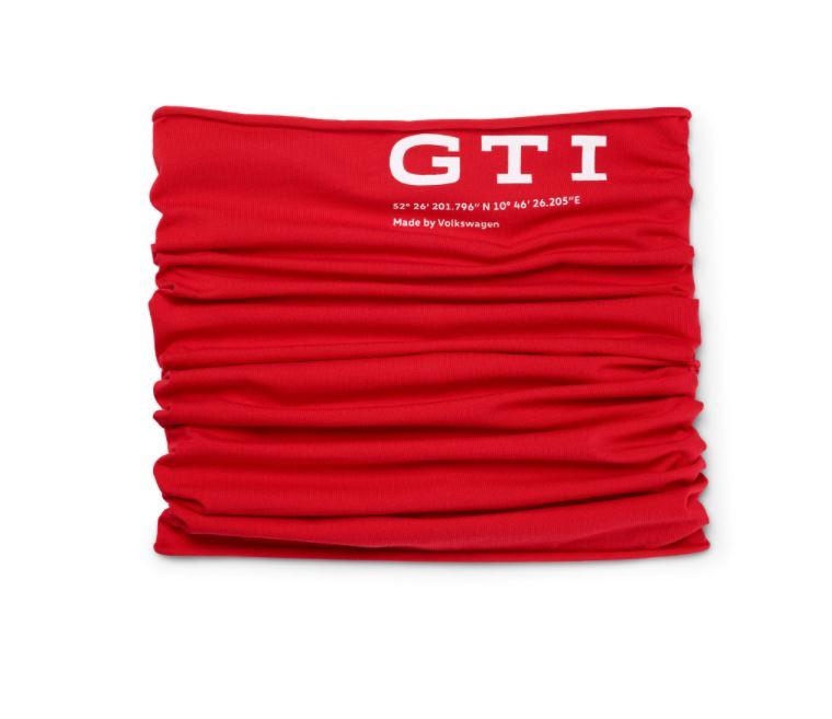 Volkswagen GTI Multifunktionstuch rot