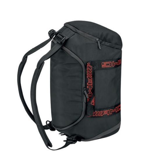 AMG Rucksacktasche schwarz rot