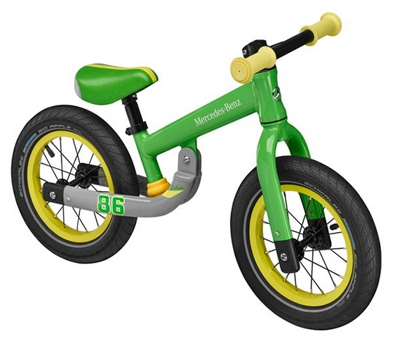 Lernlaufrad Kinder-Laufrad grün Original Mercedes-Benz