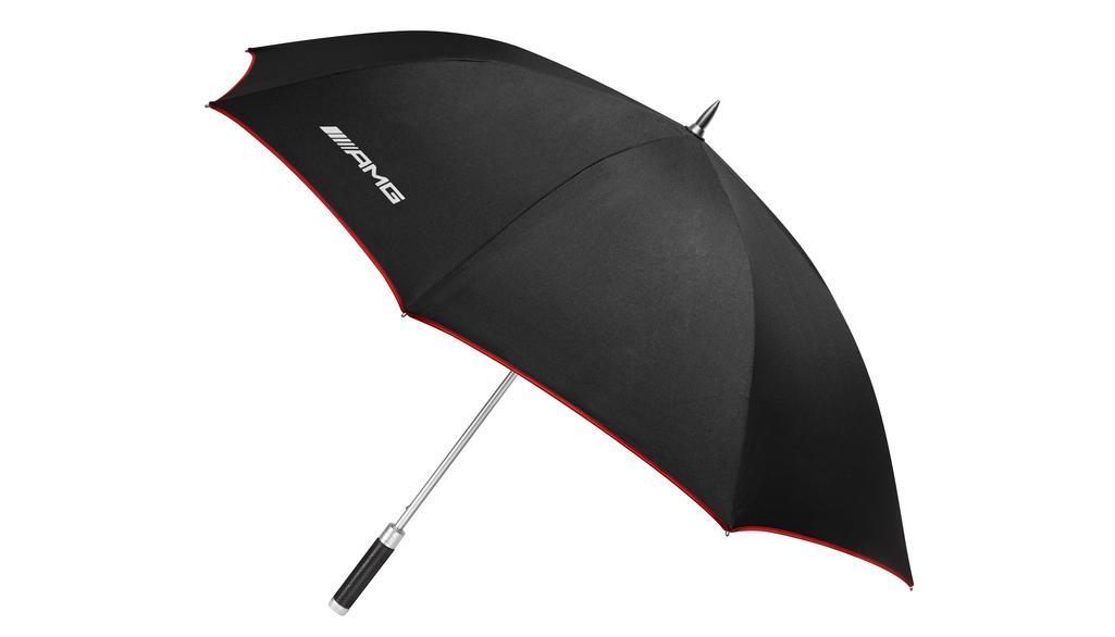 Mercedes-AMG Gästeschirm Regenschirm schwarz rot