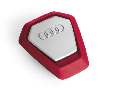 Audi Duftspender Singleframe rot Duft raue und wilde Küstenlandschaft