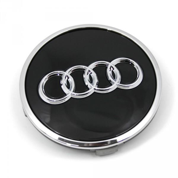 Audi Radzierkappe Felgendeckel  Nabendeckel glänzend