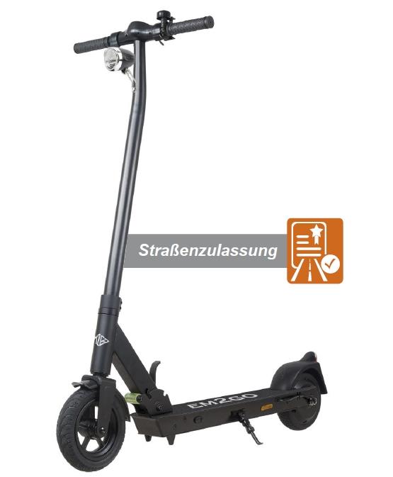 EM2GO E-Scooter FW103ST 4.4 Ah Straßenzulassung