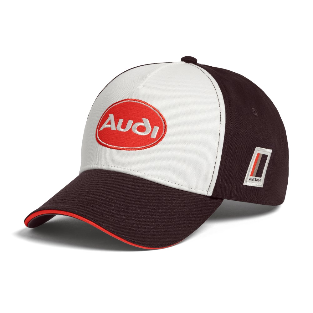 Audi heritage Cap Basecap kappe braun