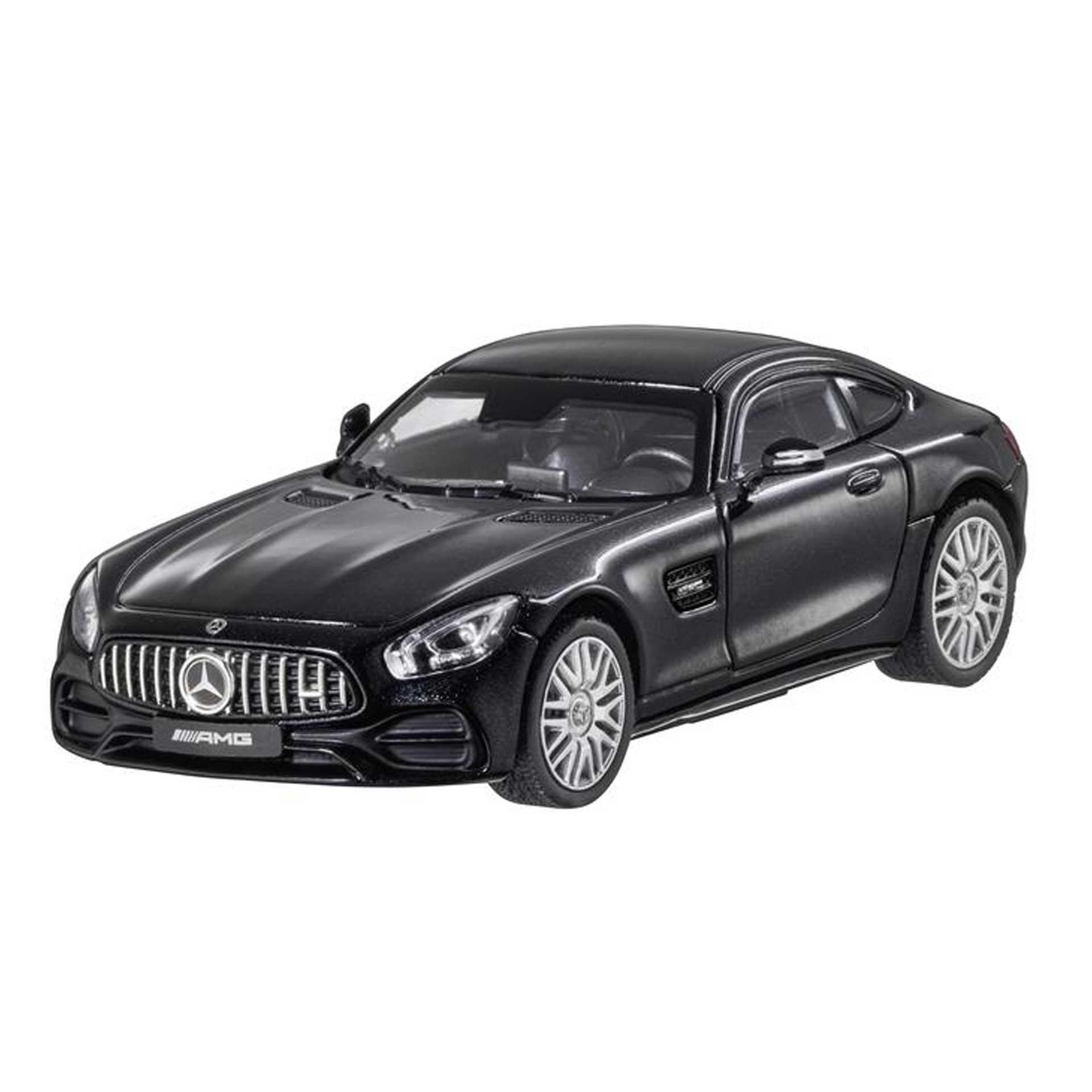 Mercedes-Benz AMG GT Coupé C190 Modellauto 1:43 magnetitschwarz