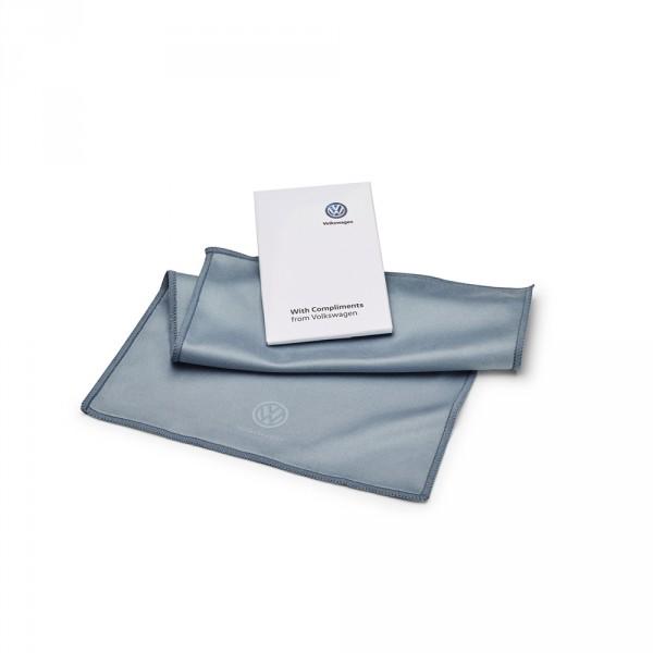 Volkswagen Reinigungstuch für Touchdisplays und Hochglanzoberflächen Microfaser Tuch