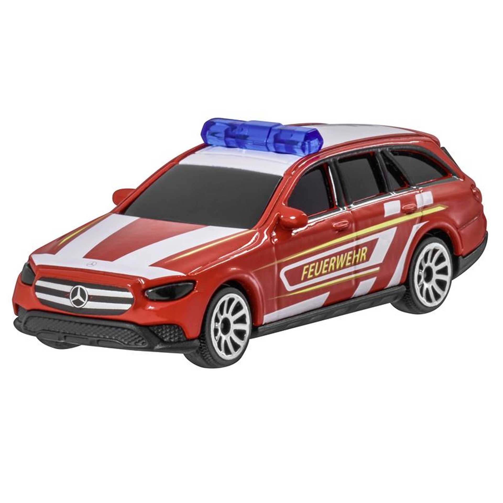 Mercedes-Benz Modellauto E-Klasse Feuerwehr S213 T-Modell All-Terrain 1:64