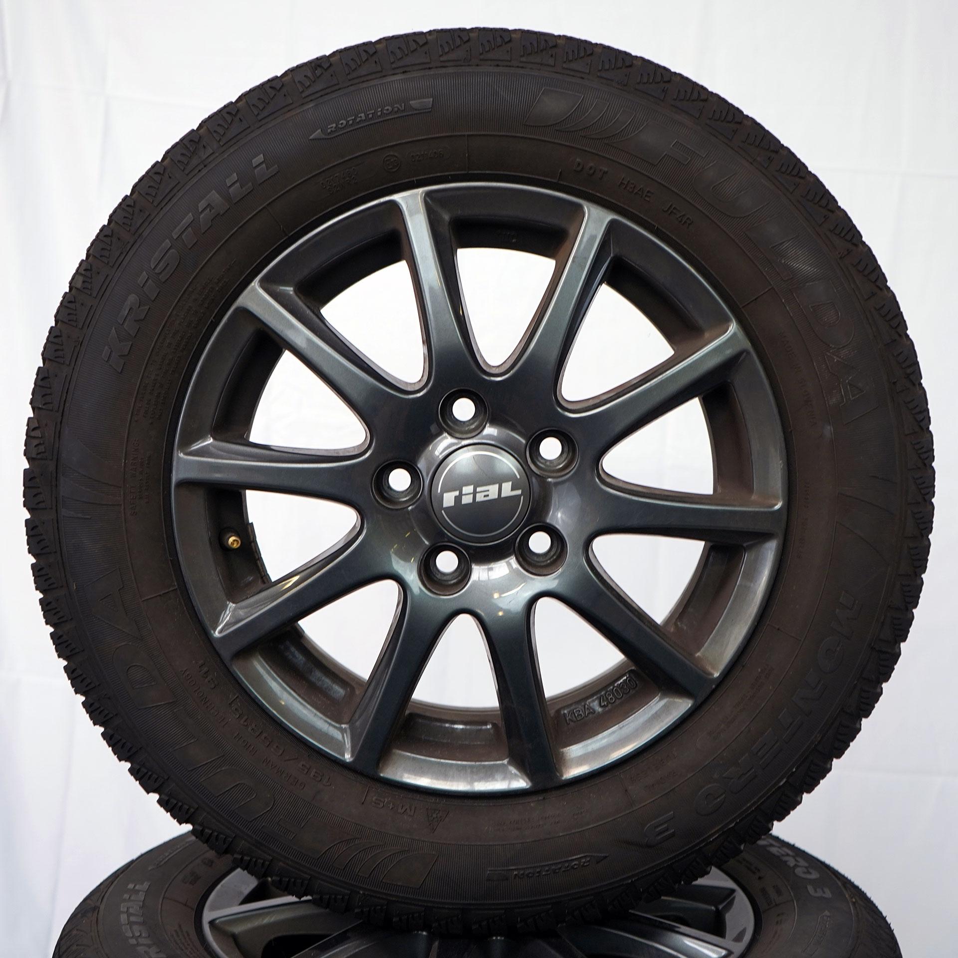 Gebrauchter 15 Zoll Rial Winterkomplettrad-Satz für Audi PEUGEOT Volkswagen Fulda