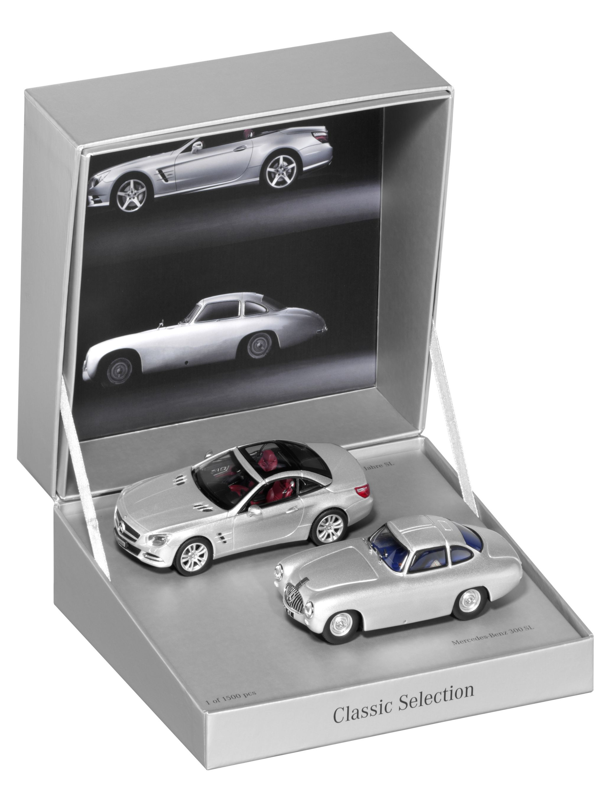 Modellauto 1:43 Doppelset Mercedes-Benz SL