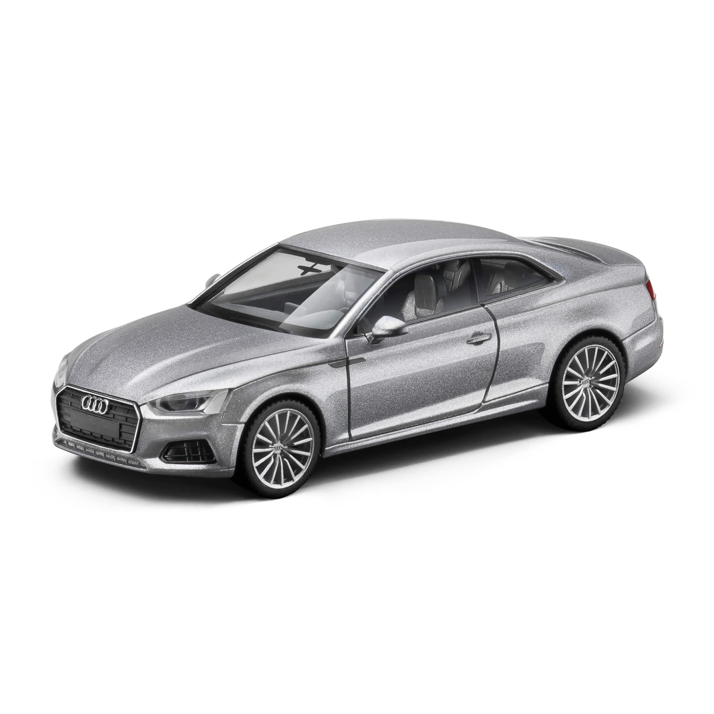 Audi A5 Coupé Florettsilber Modellauto 1:87