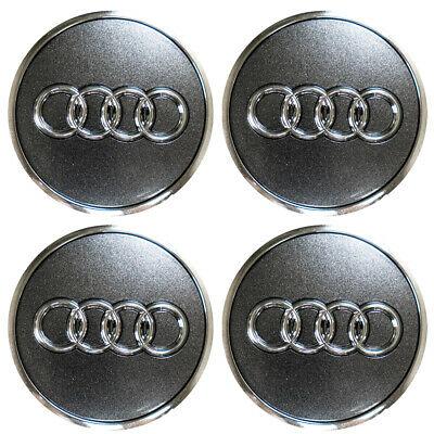 Audi Radzierkappe Felgendeckel Nabendeckel 4er Set