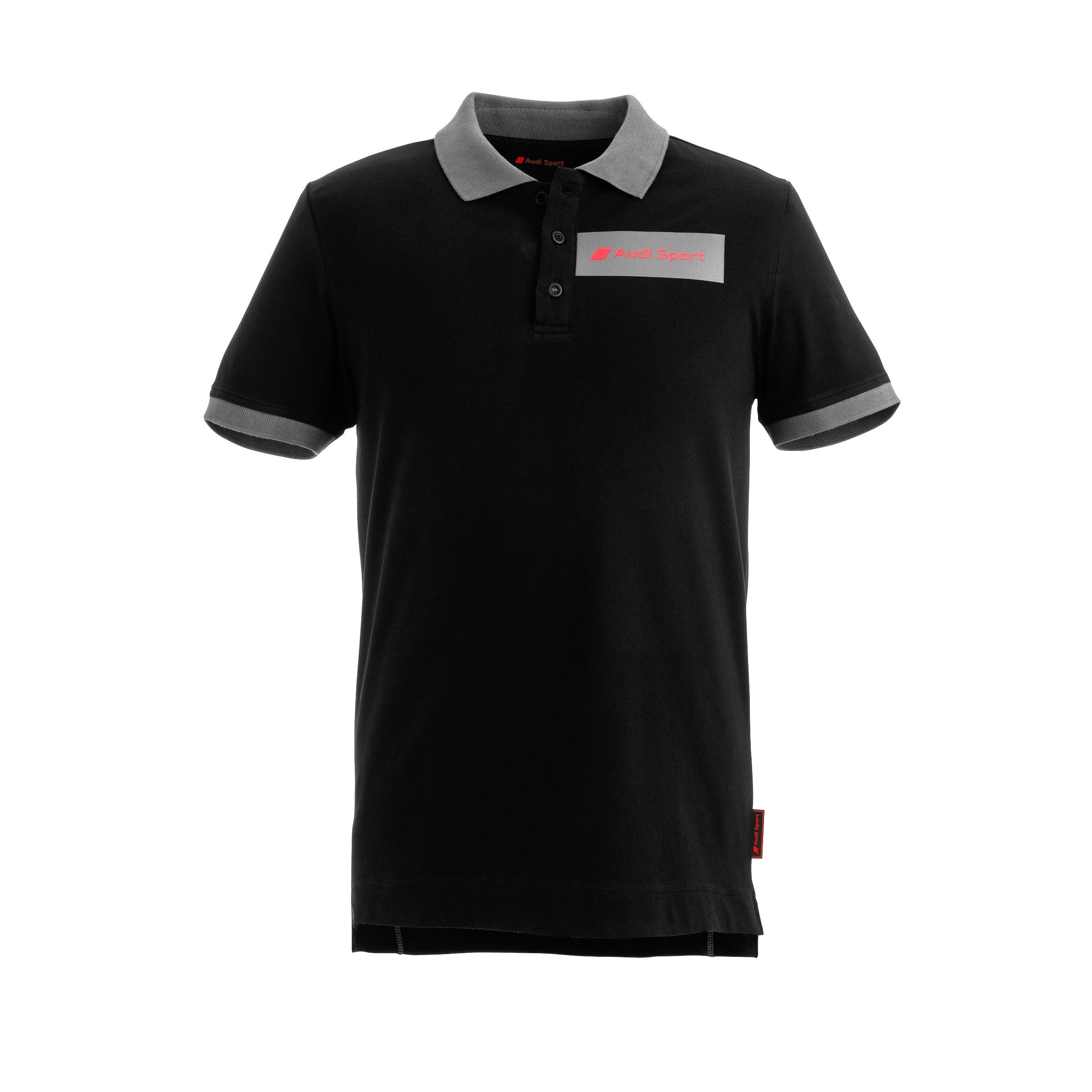 Audi Sport Poloshirt Herren Größe XL schwarz