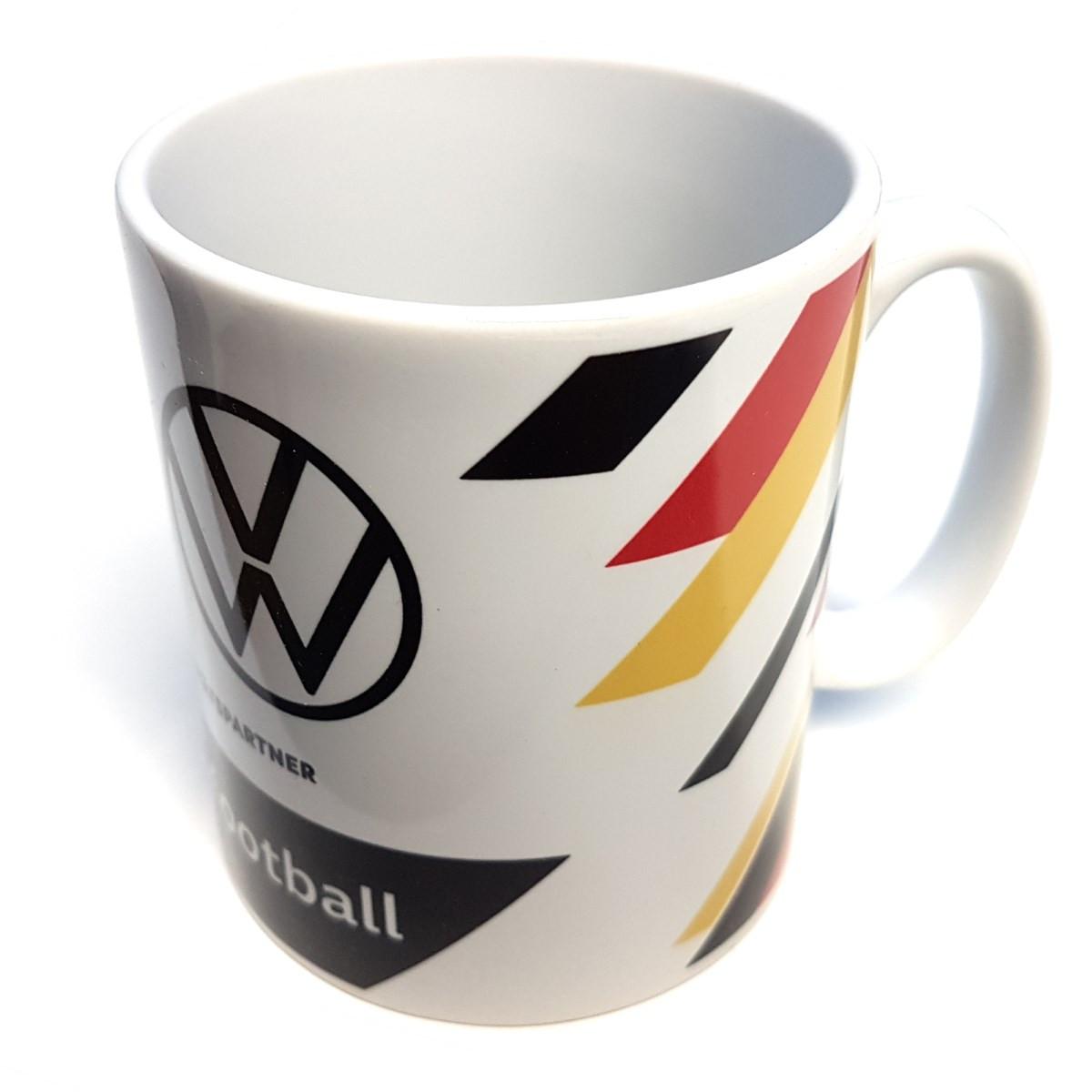 Volkswagen DFB Tasse Kaffeetasse Fußball Fanartikel