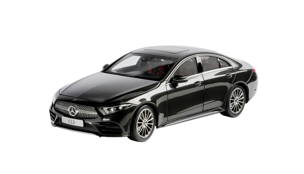 Mercedes-Benz CLS Coupé C257 AMG Line Modellauto 1:18 graphitgrau