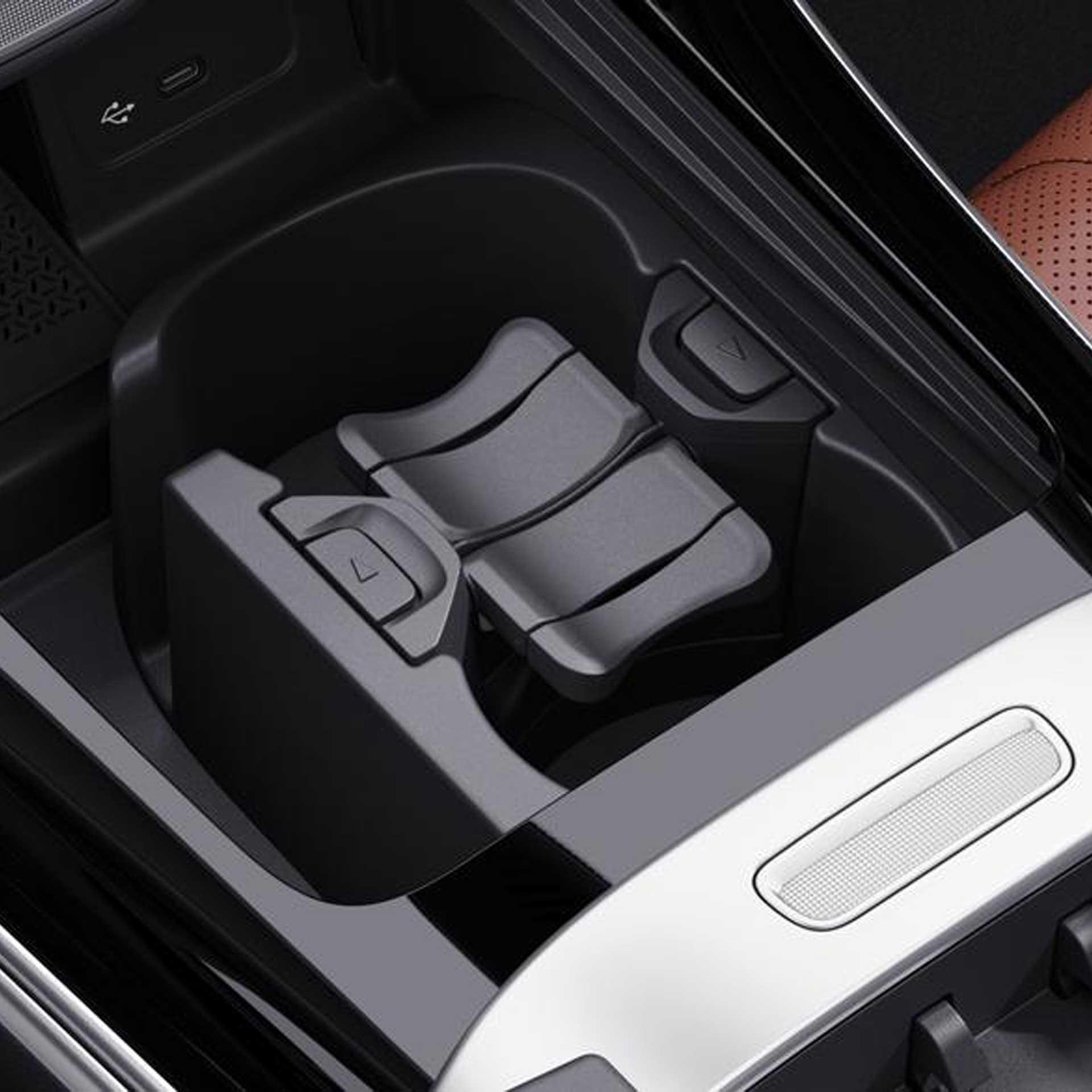 Mercedes-Benz C-Klasse W/S206 Getränkehalter Mittelkonsole schwarz
