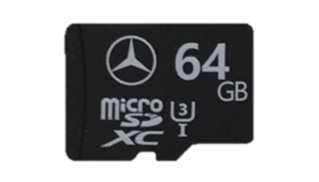 Mercedes-Benz Micro-SD Karte, 64 GB