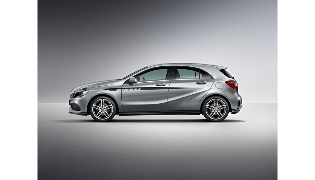 Mercedes-AMG A-Klasse W176  Sportstreifen Seite