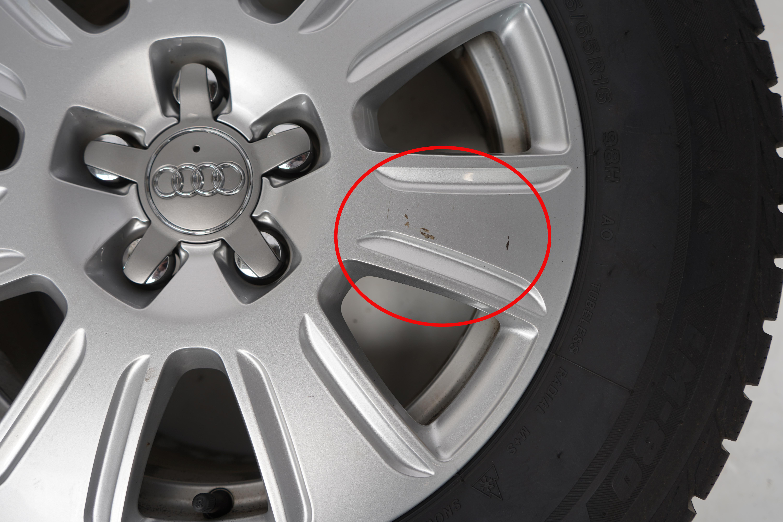 Q3 (8U) Gebrauchter 16 Zoll Original Audi Winterkomplettrad-Satz Bridgestone