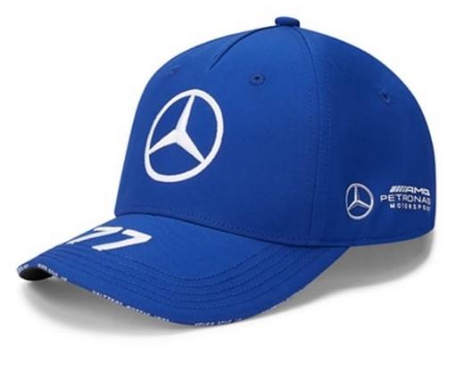 Petronas Bottas Cap Blau Original Mercedes-AMG Collection