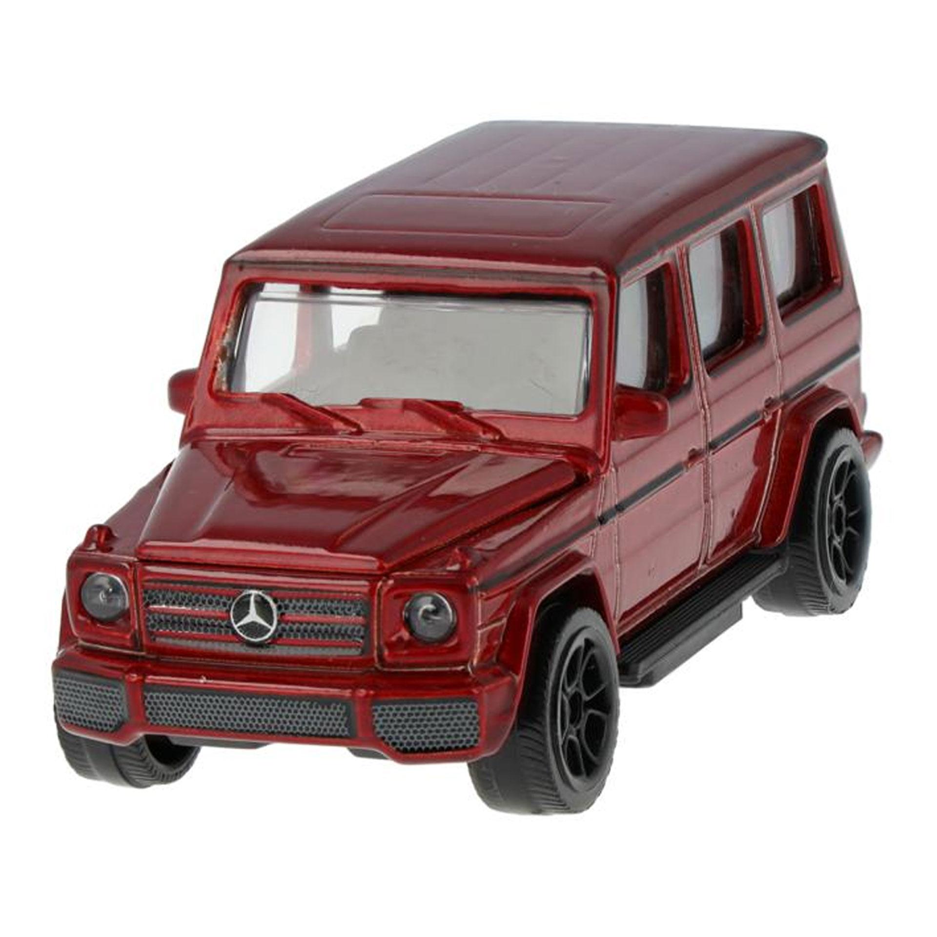 Mercedes-Benz Modellauto G-Klasse W463 3 Zoll rot